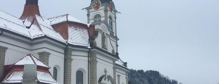 Kirche Schindellegi is one of Schindellegi.