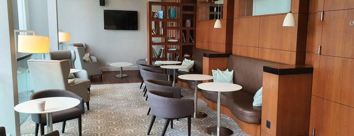 Hilton Executive Lounge is one of Torsten: сохраненные места.