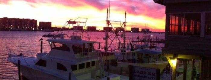 Harbor Docks is one of Destin.