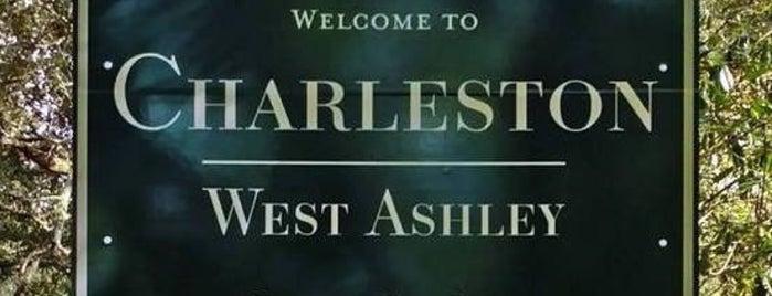west of the Ashley - Charleston, South Carolina is one of Tempat yang Disukai West.