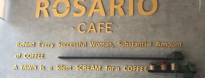 Rosario Cafe is one of Eastern province, KSA.