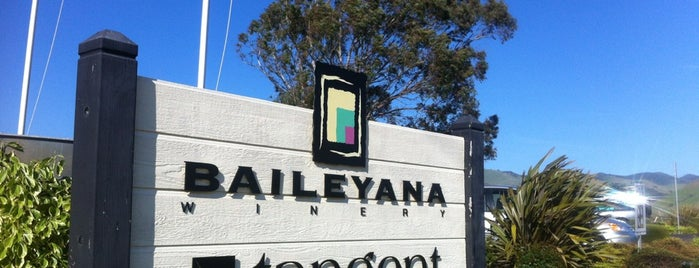 Baileyana Tangent Winery is one of SLO Wine Country.