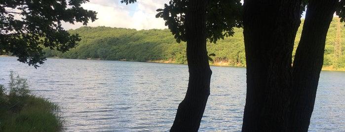 göktürk göleti tabiat parkı is one of Lugares favoritos de Bulent.