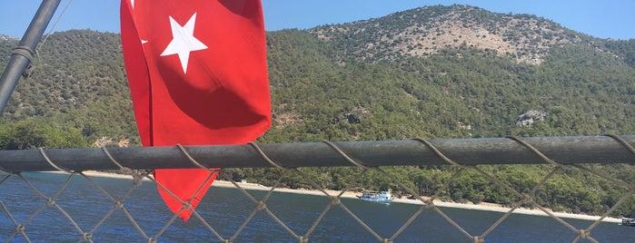 Domuz Çukuru is one of Datça.