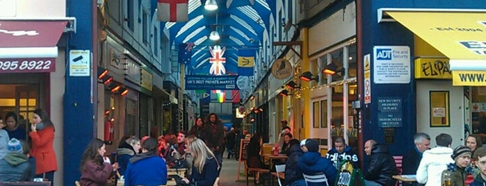 Brixton Village is one of The streets of London.