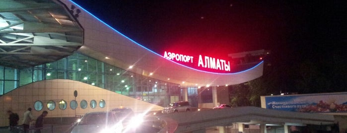 Almaty International Airport (ALA) is one of Airports (around the world).