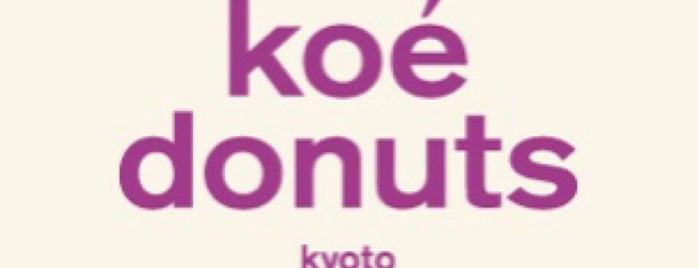 Koe Donuts Kyoto is one of Japan.