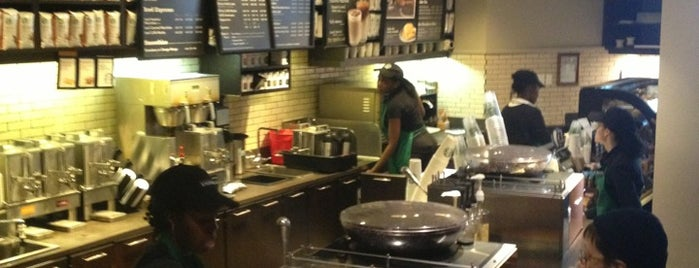 Starbucks is one of Places to Eat in Washington Heights.
