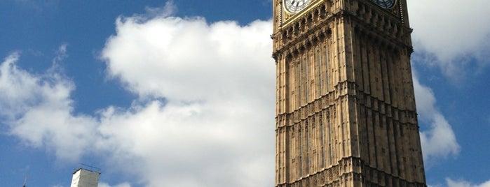 Elizabeth Tower (Big Ben) is one of LNDN.