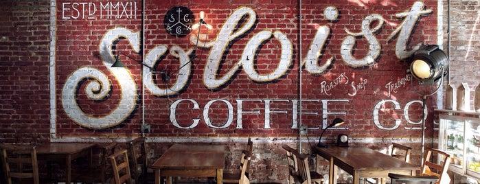 Soloist Coffee Co. is one of Coffee & Café in Beijing.