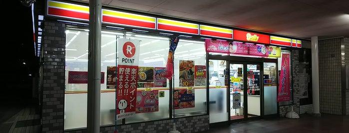 デイリーヤマザキ is one of Masahiro : понравившиеся места.