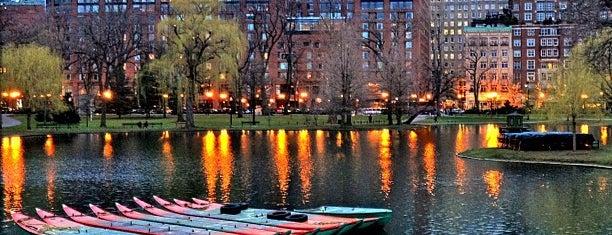 Boston Public Garden is one of New England.