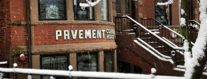 Pavement Coffeehouse is one of Boston's best beans.