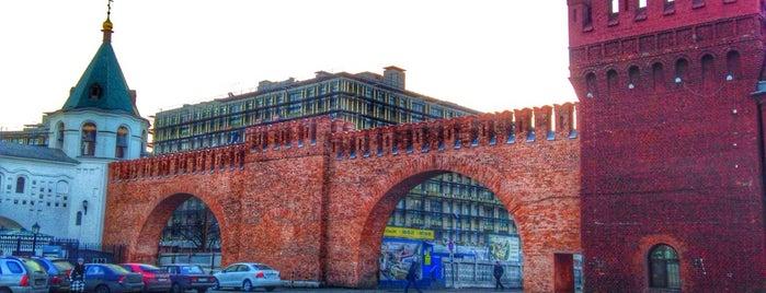 Крепостная стена is one of Интересное в Питере.