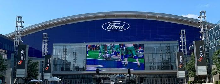 Dallas Cowboys World Headquarers is one of Bob'un Beğendiği Mekanlar.