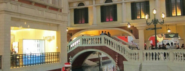 The Venetian Macao is one of Gambling Emporium.