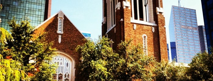 First United Methodist Church is one of Dallas Arts District.