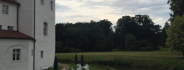 Schlosspark Fürstlich Drehna is one of Schlösser in Brandenburg.