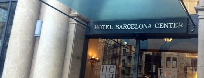 Hotel Barcelona Center is one of Monikaさんのお気に入りスポット.