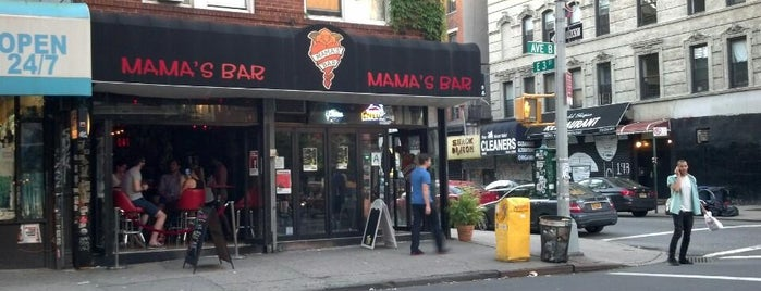 Mama's Bar is one of Bars. Just a list of bars..