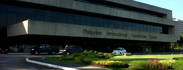 Philippine International Convention Center (PICC) is one of Tempat yang Disukai Kenn R.