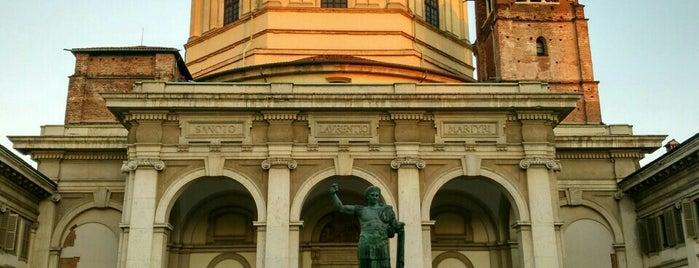 Basilica di San Lorenzo Maggiore is one of Milano.