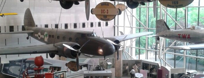 National Air and Space Museum is one of DC Museums.