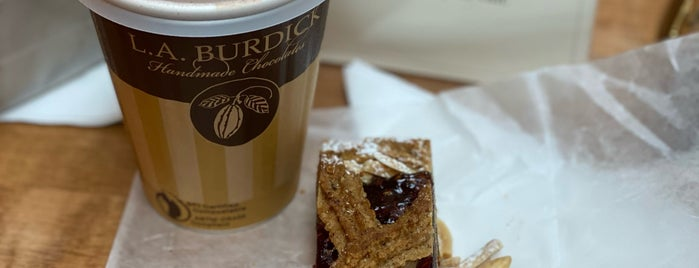 L.A. Burdick Chocolates is one of Chicago.