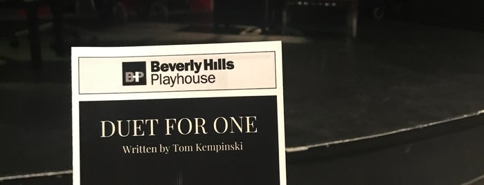 Beverly Hills Playhouse is one of Los Angeles CA.