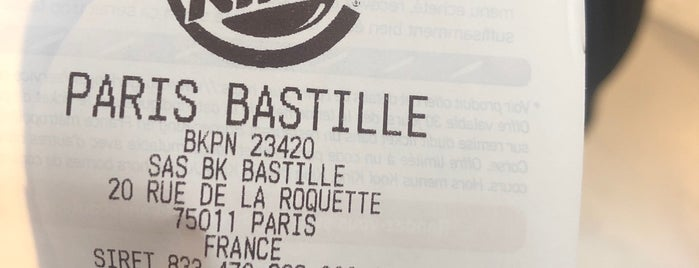 Burger King is one of paris.