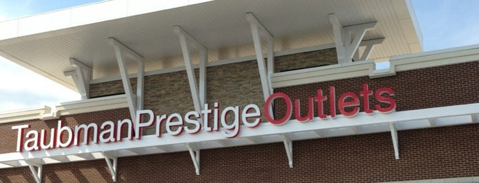 Taubman Prestige Outlets is one of Places to Visit in the STL.