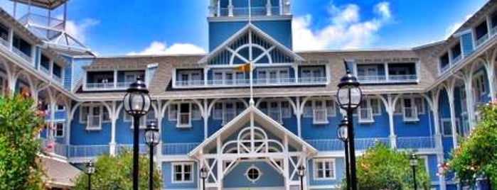 Disney's Beach Club Resort is one of Yves's Liked Places.