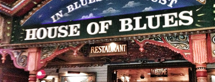 House of Blues is one of With c.