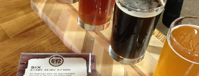 612Brew is one of Brewery Tours.