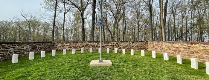 Ball's Bluff National Cemetery is one of Virginia Jaunts.