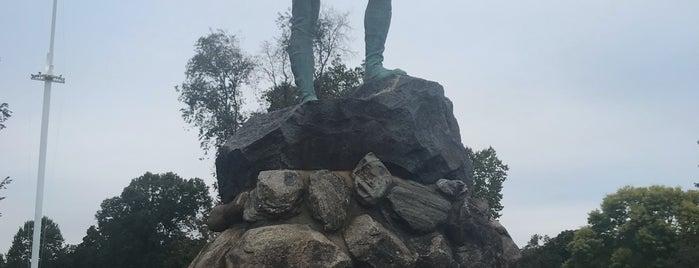 Minuteman Monument is one of Locais salvos de Lizzie.