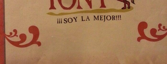 La Parrilla de Tony is one of Locais curtidos por Gabriel.