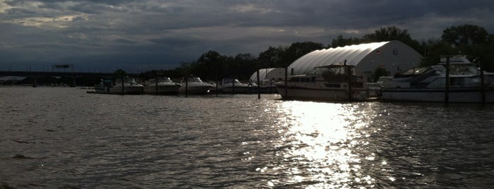 Anacostia Community Boathouse is one of 111 Places Tips.