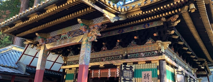 日光東照宮 祈祷殿 is one of Lugares favoritos de ジャック.