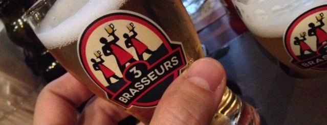 Les 3 Brasseurs is one of Sao Paulo.