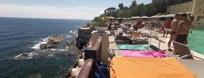 Lido Rocce Verdi is one of Naples.