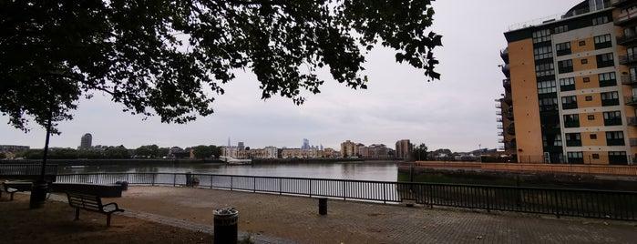 Thames Path Canary Wharf is one of Ann 님이 좋아한 장소.