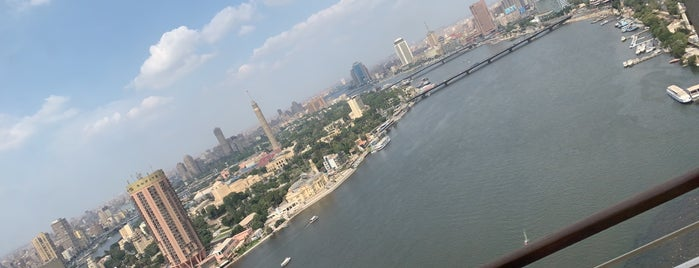 Grand Nile Tower Hotel is one of Where, When & Who List 2!.