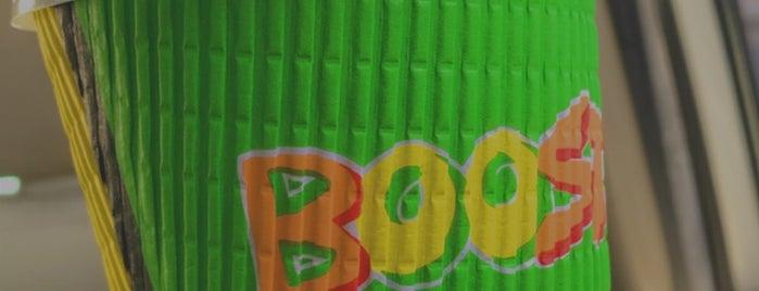 Boost Juice Bars is one of สถานที่ที่บันทึกไว้ของ Queen.