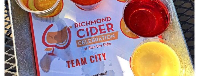 Blue Bee Cider is one of Richmond Nom-nom.