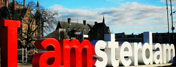 I amsterdam is one of Go Ahead, Be A Tourist.