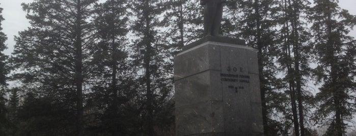 Памятник Зое Космодемьянской is one of Лесинさんのお気に入りスポット.
