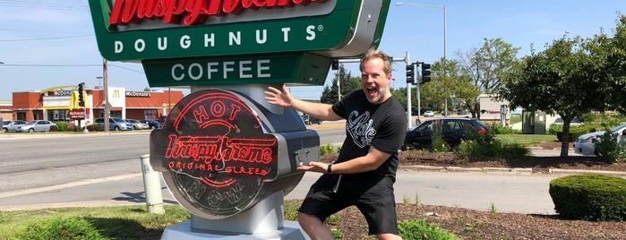 Krispy Kreme is one of Andy : понравившиеся места.