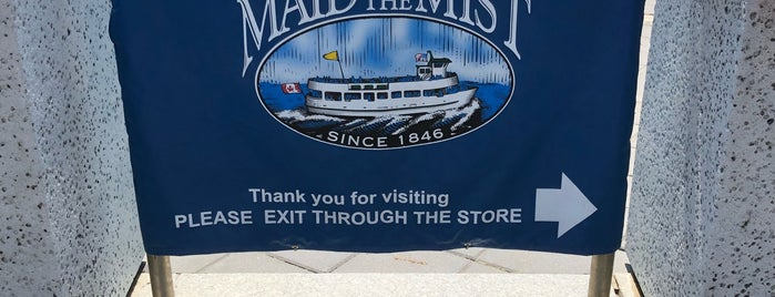 Maid of the Mist Store is one of Niagara Falls Trip.