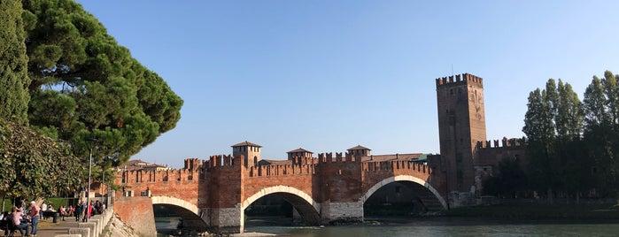 Castelvecchio is one of Verona.